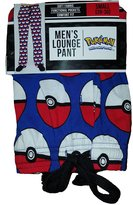Bioworld Pokemon Pokeball All Over Sleep Lounge Pants