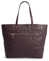 Shinola Leather Tote - Purple
