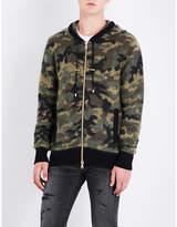 Balmain Camouflage Knitted Hoody