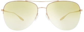 Barton Perreira Chevalier 62MM Aviator Sunglasses