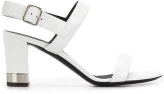 Giuseppe Zanotti Metallic-Heel 80mm Sandals
