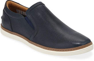 Donald J Pliner Men's Travis Perforated Slip-On Sneaker
