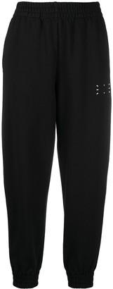 McQ Graphic-Print Cotton Track Trousers