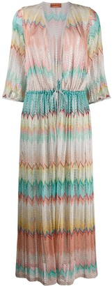 Missoni Mare embroidered maxi dress