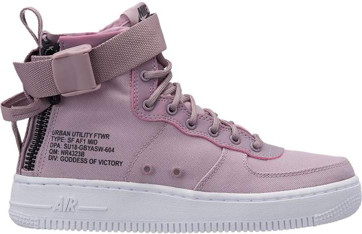 brand new e0498 f4fa2 SF Air Force 1 Mid Elemental Rose (GS)