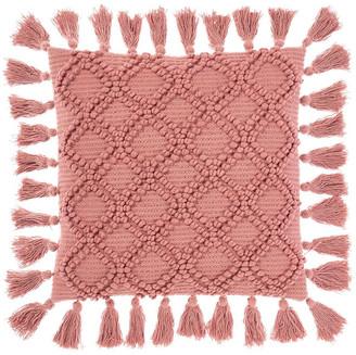 Linen House Circlet Cushion Pink Cushion-48x48cm