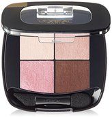L'Oreal Cosmetics Colour Riche Pocket Palette Eye Shadow, Avenue Des Roses, 0.1 Ounce