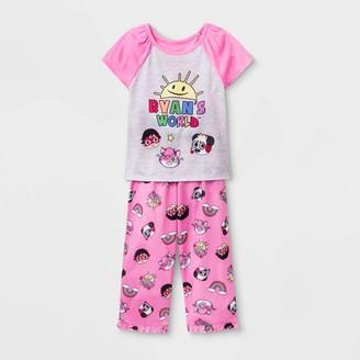 Ryan's World Toddler Girl' Ryan' Pajama et - 3T