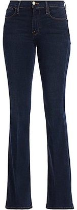 Frame Le High Stretch Flare Jeans