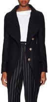 Vivienne Westwood Women's Wool Asymmetrical Coat
