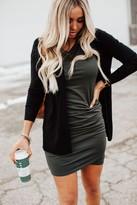 Better Than Basic Midi Dress - Hunter Green