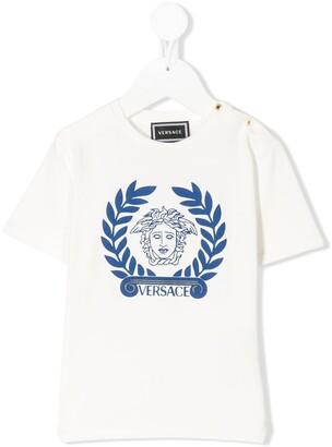 Versace medusa logo relaxed fit T-shirt