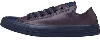 Converse Chuck Taylor All Star Ox Rubber Trainers Obsidian