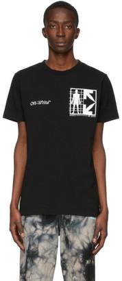 Off-White Black Half Arrows Man T-Shirt