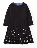 Boden Velvet Star Dress