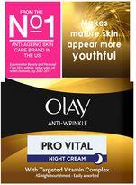 Olay Anti-Wrinkle Pro Vital Anti-ageing Moisturiser Night Cream 50ml