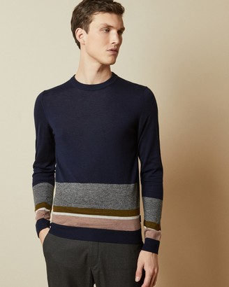 Ted Baker HOST Wool striped jumper