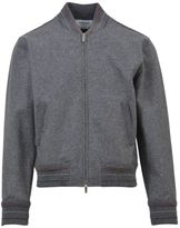 Thom Browne Wool-felt Bomber Jacket