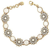 Lucky Brand Squash Blossom Crystal & Mother-of-Pearl Link Bracelet