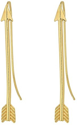 Alex and Ani Arrow Earrings (14KT Gold Plated) Earring