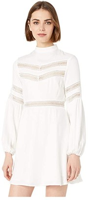 BB Dakota Give Me the Details Rayon Twill Dress (Off-White) Women's Dress