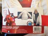 Disney Big Hero 6 Hooded Towel Wrap