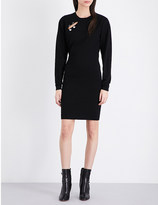 Versus Safety pin knitted dress