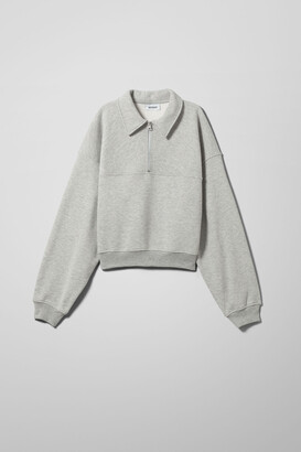 Weekday Zaylee Sweatshirt - Grey
