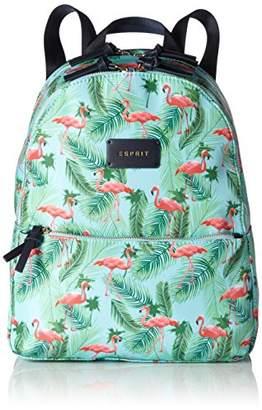 Esprit 067ea1o047, Women's Backpack Handbag, Blau (Light Turquoise), (wxhxd)