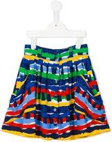 Stella McCartney printed skirt - kids - Viscose - 6 yrs