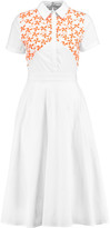 Tanya Taylor Mia embroidered cotton-blend dress