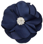 Natasha Accessories Rhinestone Flower Pin Clip