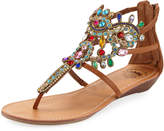 Premium Collection By Yellow Box Araminta Embellished Flat Sandals