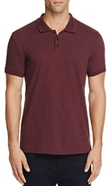 Vince Slub Knit Slim Fit Polo Shirt