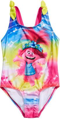 Dreamwave Little Girls 1-Pc. Trolls Swim Suit