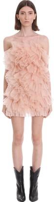 Laneus Dress In Powder Cotton