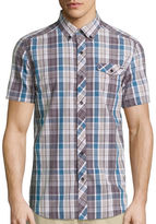 Ecko Unlimited Unltd. Short-Sleeve Tribeca Woven Button-Front Shirt