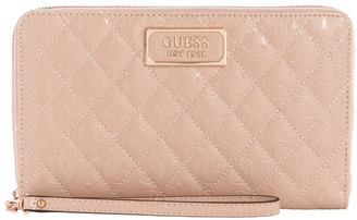 GUESS SR787460ROS Lola Zip Around Wallet