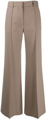 See by Chloe Plain Flared Trousers