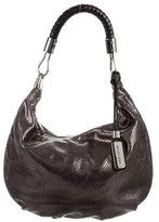 Michael Kors Metallic Snakeskin Bag