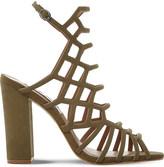 Steve Madden Skales suede heeled sandals