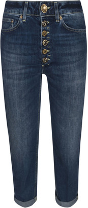 Dondup Buttoned Closure Cropped Jeans