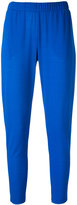 Le Tricot Perugia slim-fit trousers - women - Elastodiene/Polyamide/Viscose - S
