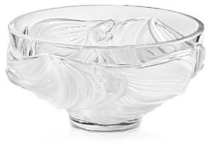 Lalique Poissons Combattants Large Bowl