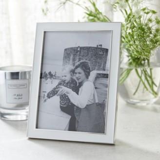 "The White Company Resin Photo Frame 5x7"", White, One Size"