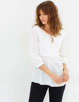 Living Doll Cali Embroidered Blouse