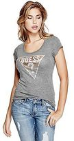 GUESS Women's Tracy Foil Tee