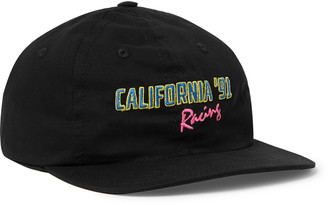 Pasadena Leisure Club Embroidered Cotton-Twill Baseball Cap