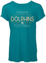 5th & Ocean Women's Miami Dolphins Rayon V T-Shirt