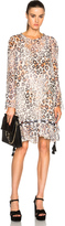 Chloé Leopard Gauze Dress